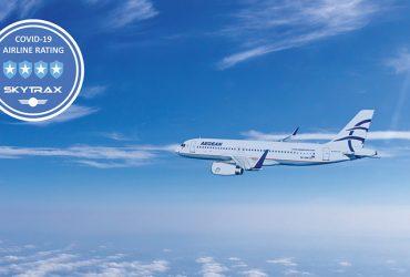-50% per volare con Aegean a Mykonos, Santorini, Corfù e Creta