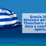 Grecia: il Ministro del Turismo Theocharis annuncia apertura del turismo il 14 Maggio 2021